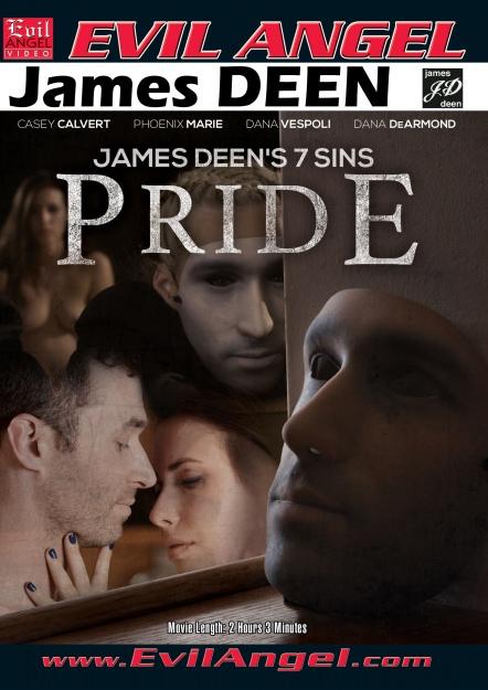 James Deen's 7 Sins - PRIDE Dvd Cover