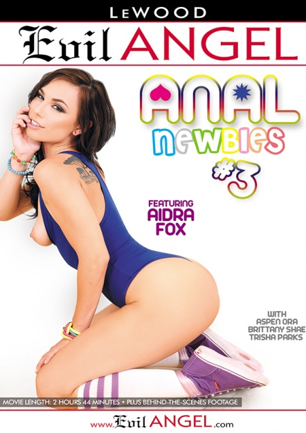Anal Newbies #03 Dvd Cover
