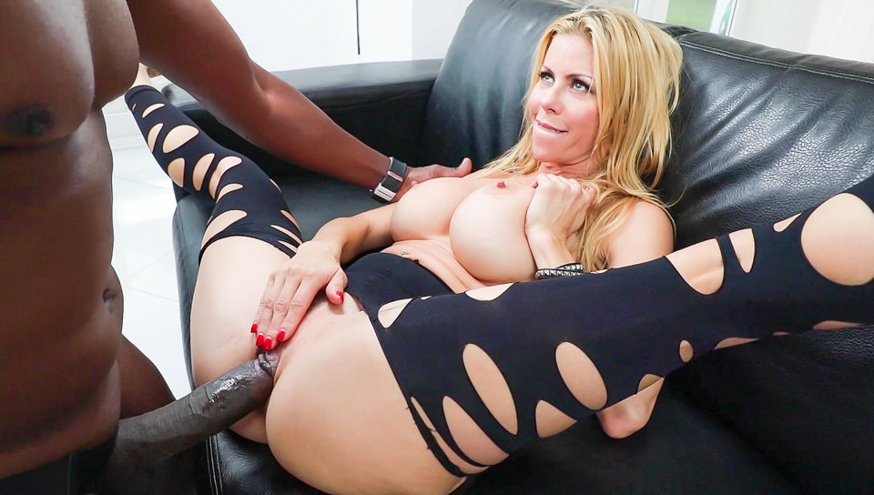 Nikki Hunter Interracial Anal