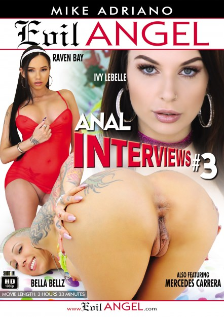 Anal Interviews #03 Dvd Cover