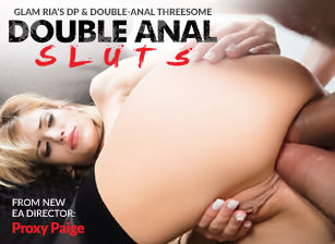 Glam Ria's DP & Double-Anal Threesome