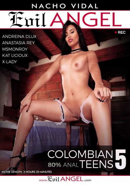 Colombian Teens #05 Dvd Cover