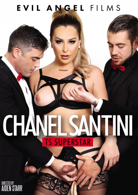 Chanel Santini: TS Superstar DVD Cover