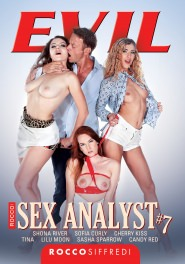 Rocco Sex Analyst #07 Dvd Cover