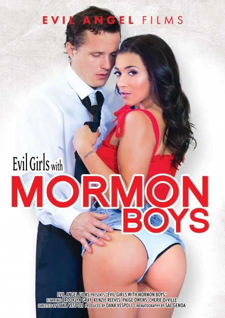 Evil Girls With Mormon Boys DVD Cover