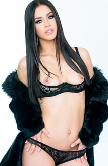Glam Latina Alina's Sloppy, Gagging BJ